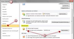 Erinnerungssignal in Outlook 2010 anpassen