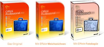 PowerPoint 2010: Demo von zwei Bildbearbeitungseffekten