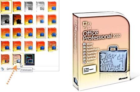 PowerPoint 2010: Künstlerischen Effekt Fotokopie zuweisen