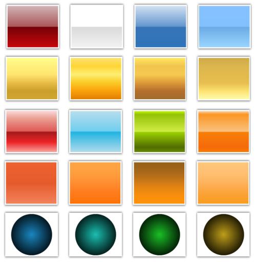 Vorgefertigte Farbverläufe für PowerPoint 2007 und 2010: Eine kleine Auswahl