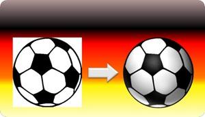 PowerPoint 2010: Der Ball Vorher und Nachher
