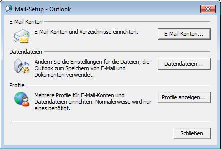 E-Mail-Einstellungen