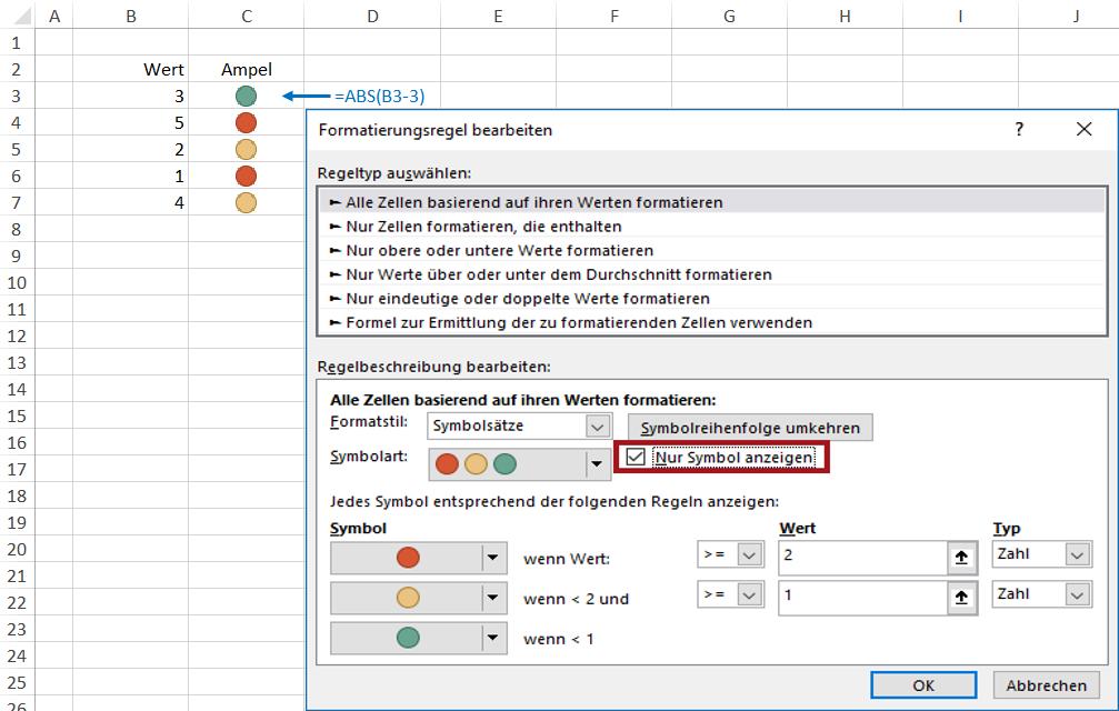 Excel 2010: Mit Ampeln & Co. klare Zeichen setzen, aber nach welchem ...