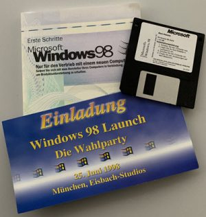 Hahners Adventskalender 2019 Türchen 2: Windows 98