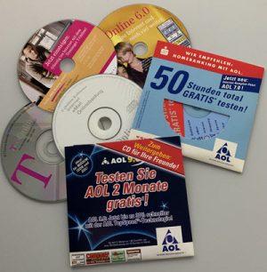 Hahners Adventskalender 2019 Türchen 8: AOL- und T-Online-CDs
