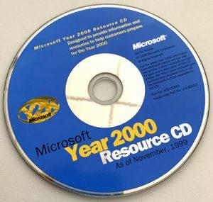 Hahners Adventskalender 2019 Türchen 12: Microsoft Jahr-2000-Resourcen-CD