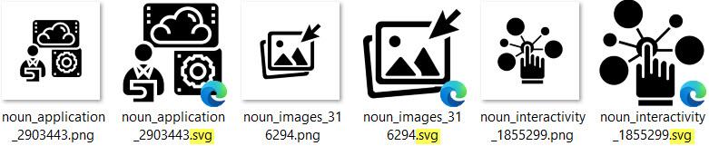 Mit Vorschau für SVG-Dateien